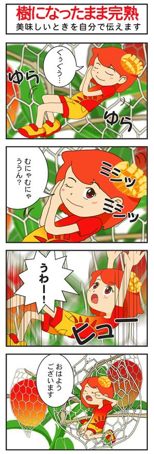 いわいさこさんちのマンゴーちゃん
